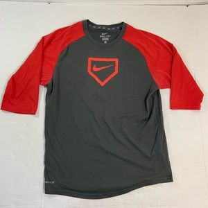 Nike Baseball Logo Tee Shirt M